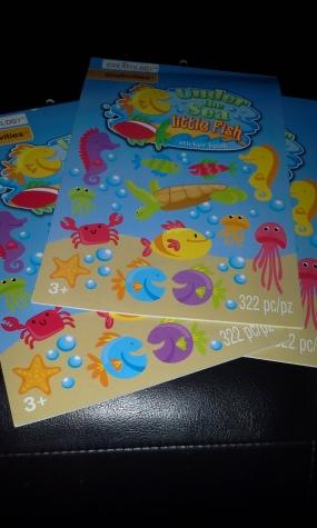 under the sea sticker pic