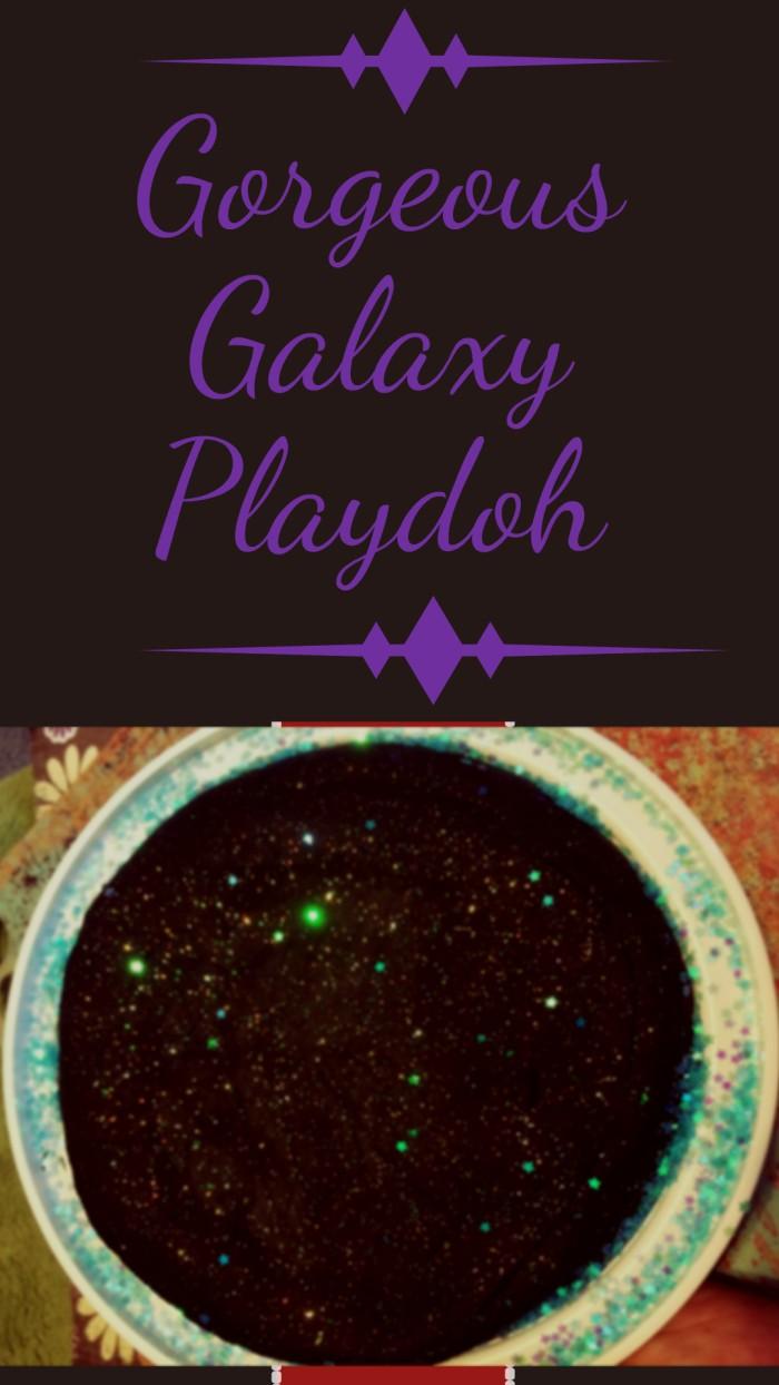 galaxy playdoh